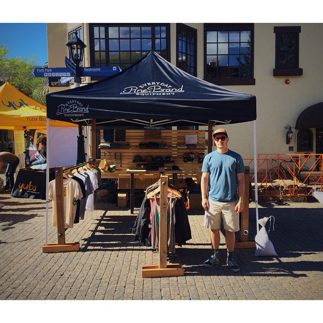 We have moved into Vail Village for Day 4 of GoPro Mountain Games! Come see us! // #gopromtngames #EverydayEquipment #pinebrand #outhere