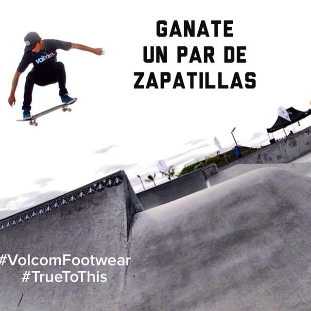 Contamos a que le sos fiel: subí una foto haciendo lo que te apasiona y menciona a @VolcomArgentina y el #Hashtag #truetothis participa y llévate las zapatillas!!!! #volcomfotwear