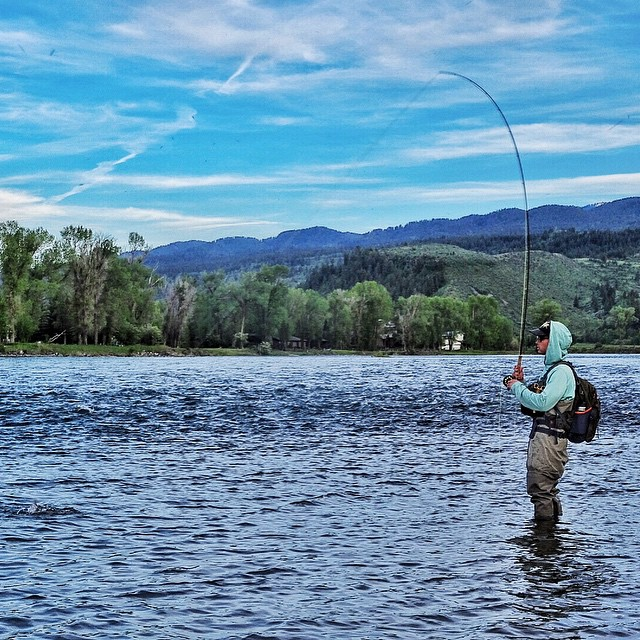 """To go fishing is the chance to wash one's soul with pure air, with the rush of the brook, or with the shimmer of sun on blue water. It brings meekness and inspiration from the decency of nature, charity toward tackle-makers, patience toward fish, a..."