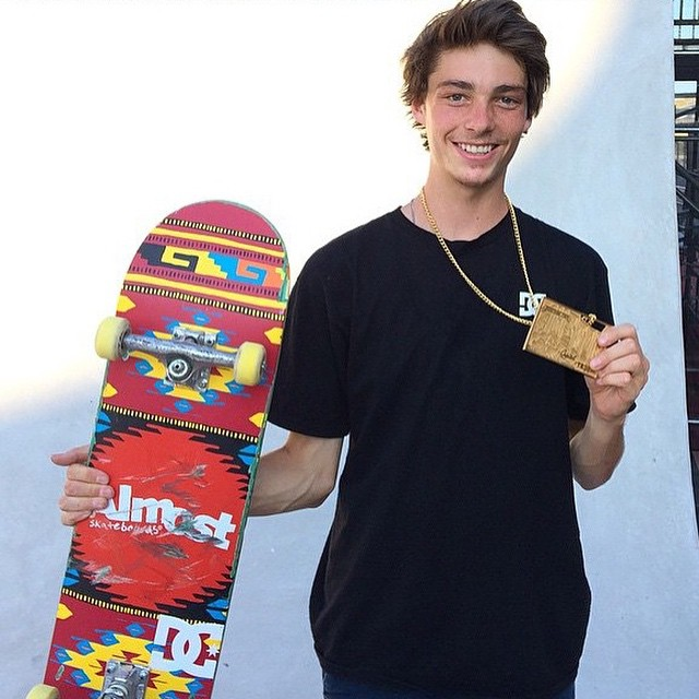 Congrats to @tysonbowerbank for winning gold in the @xgames Am contest yesterday! He crushed it! #xgames #DCShoes
