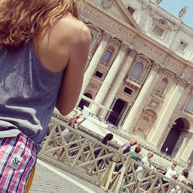 #DomingoConOnda en #Roma ✈️
