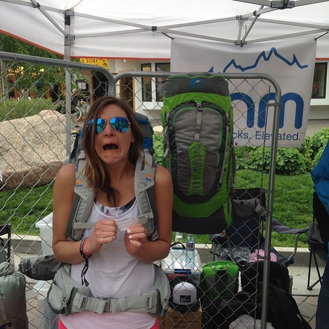 This is what @leemebeltravels looks like when a bug flies into her mouth. Hopefully she makes the same face when she swings by to pick up her new Flatiron42 Pack because she won the ultimate #showusyourgoface prize!  Come by our booth at #gopromtngames...
