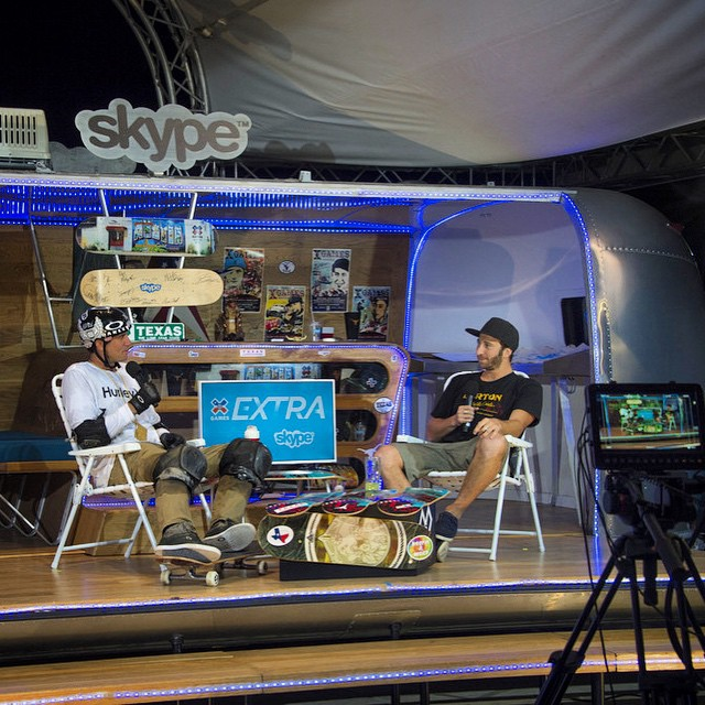 X Games Extra presented by @skype is taking place now! Head over to XGames.com/Extra to join @jackmitrani and friends as we recap a memorable four days here in Austin, Texas!
