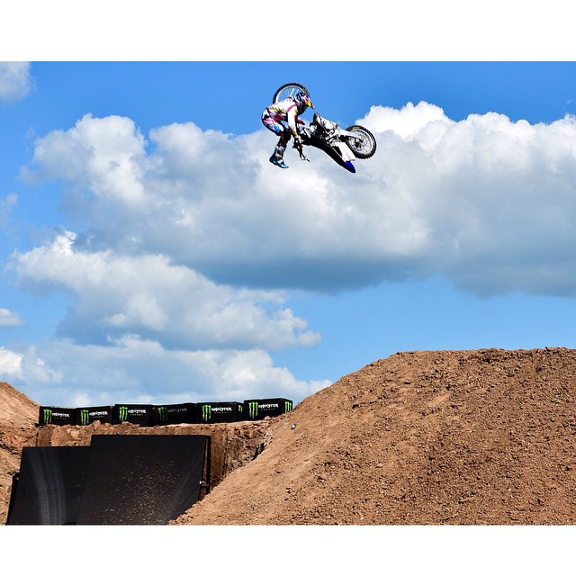 @tompages stomping the revolutionary bike flip to win @toyotausa Moto X QuarterPipe!  Head to XGames.com to catch all the highlights and more. #XGames (