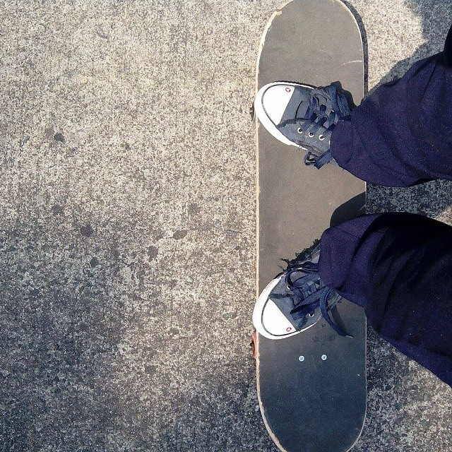 Skate your way into the weekend. #Regram from @yoboyjoboy. #Airwalk