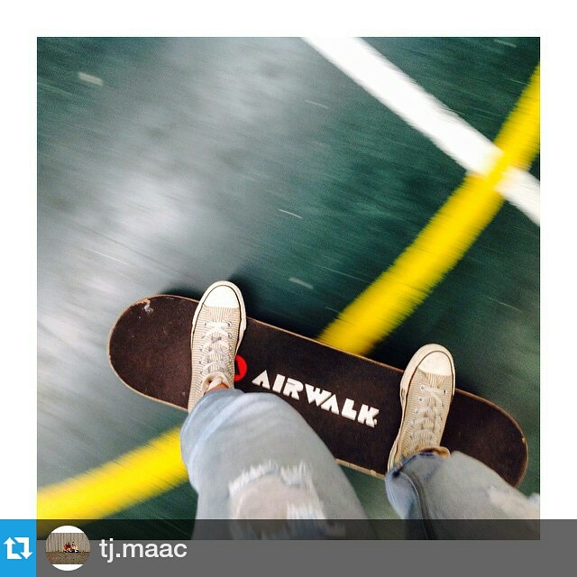 #Repost @tj.maac - Picking up that skateboard for the first time