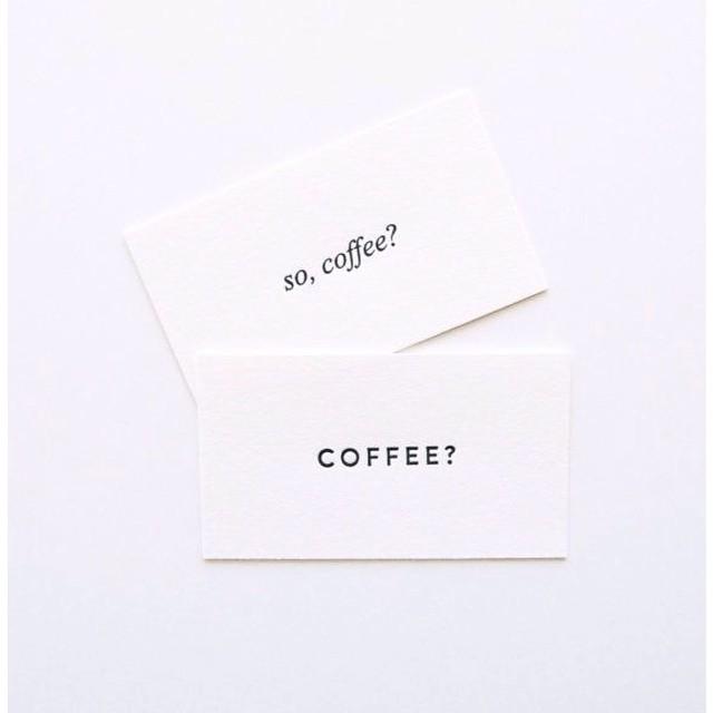 Si Coffee por favor! // Buen lunes , buena semana //