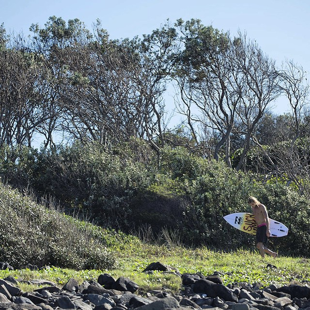 Take the road less traveled. #lifesbetterinboardshorts #theBillabongdaily