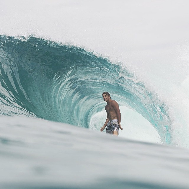 Live in the moment- @mitchparkinson #lifesbetterinboardshorts #theBillabongdaily