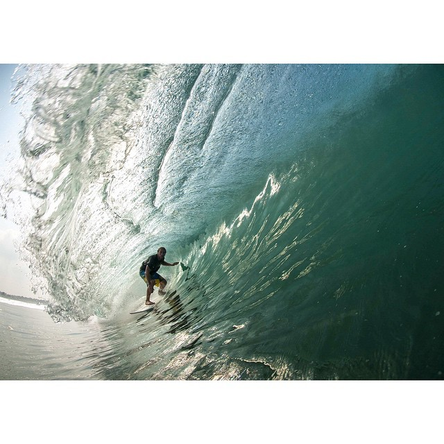 @petemendia- Not a drop out of place. #lifesbetterinboardshorts #theBillabongdaily