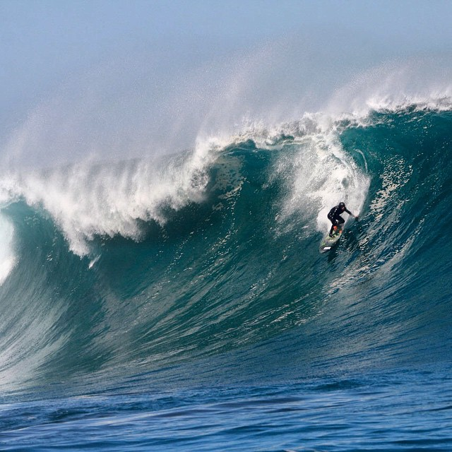@cristianmerello rushing Punta de Lobos. #theBillabongdaily #Billabongwetsuits