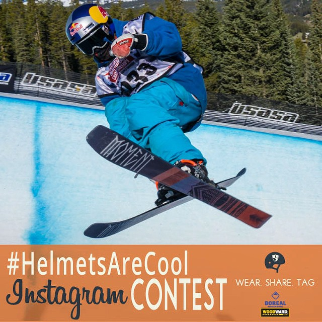 Share you in your element this month wearing your helmet w/ tags #HelmetsAreCool #woodwardtahoe @hi5sfoundation & @woodwardtahoe. If we repost your photo we will send you something. If you have the most epic photo at the end of the month you win a...