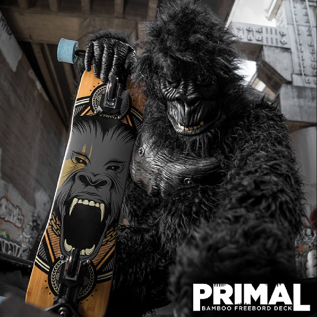 New #Freebord Primal Deck Is Bananas