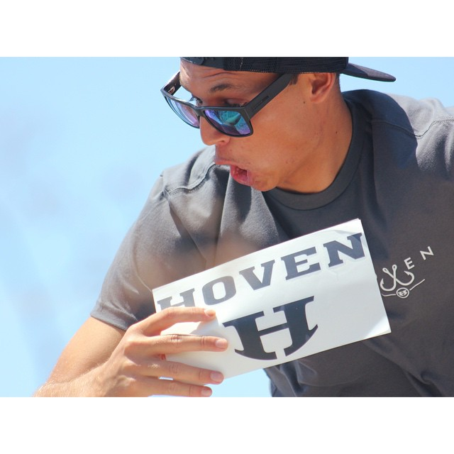 \\ CAPTION THIS PHOTO // Winner has a chance at a  BRAND NEW #hovenvision t-shirt if we think you're clever enough. #teamhoven #surf #sup #fish #catchinabuzz #keepinitreel #california #happymonday #caption #sunglasses