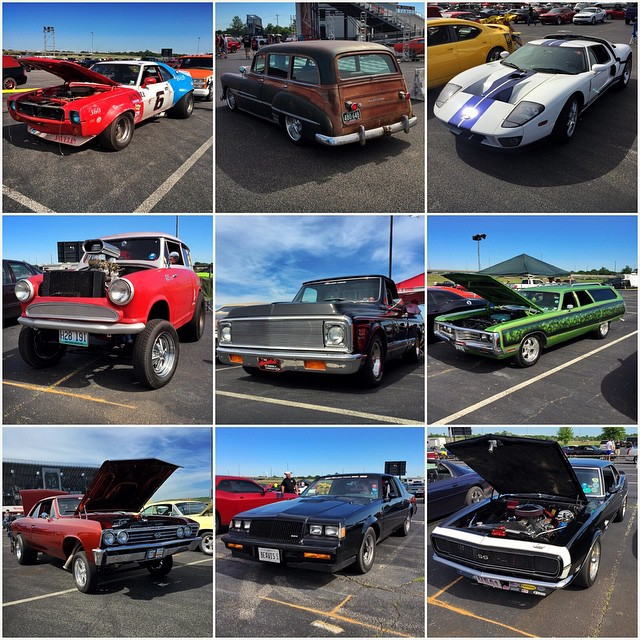 We out here at Gateway Motorsports Park for #powertour2015. Here's a very small sampling of the thousands of awsm cars here.