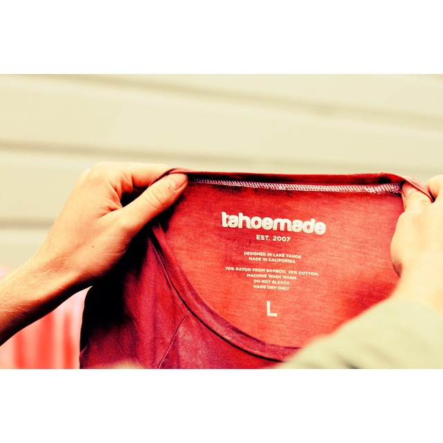 These shirts are to dye for. _ #tahoemade #itswayoutthere
