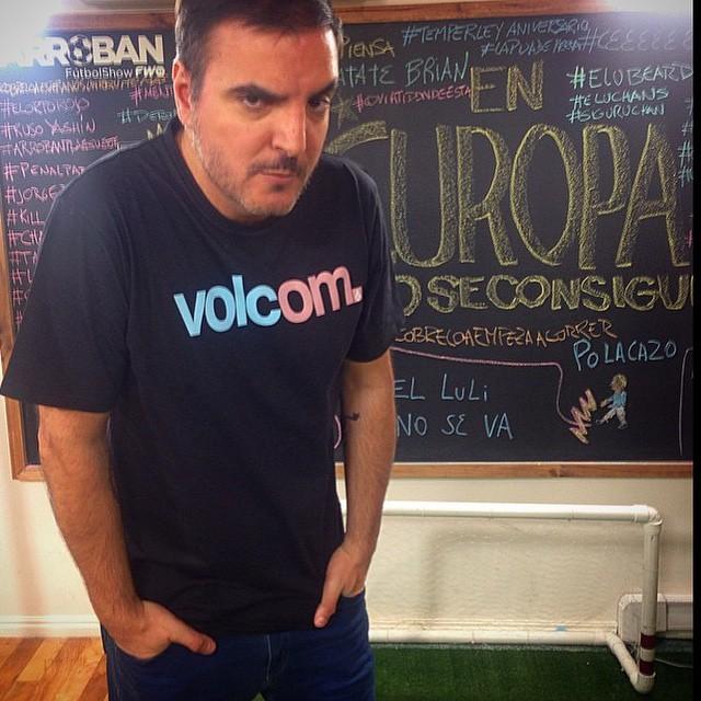 Nuestro amigo Diego Ripoll @dieripoll con remera Volc.Om #basicFit #OM #TrueToThis