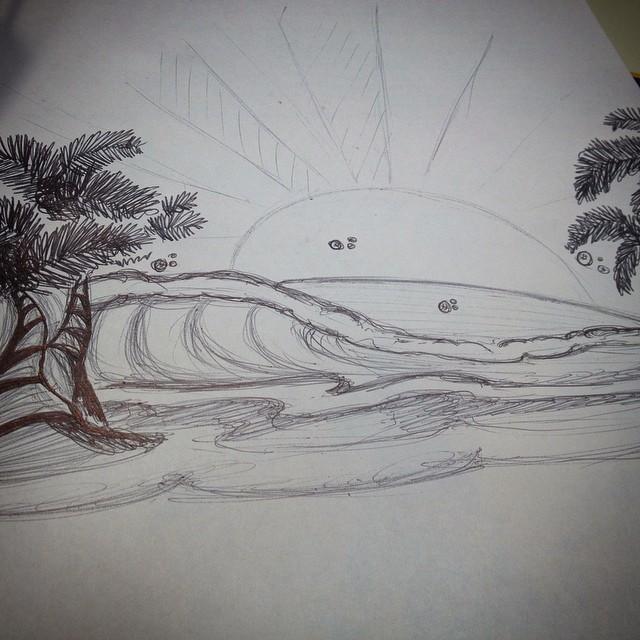 Ya estamos pensando en el #verano otra vez #summer #elefante #elephant #draw #design #psd #ai #jointheherd