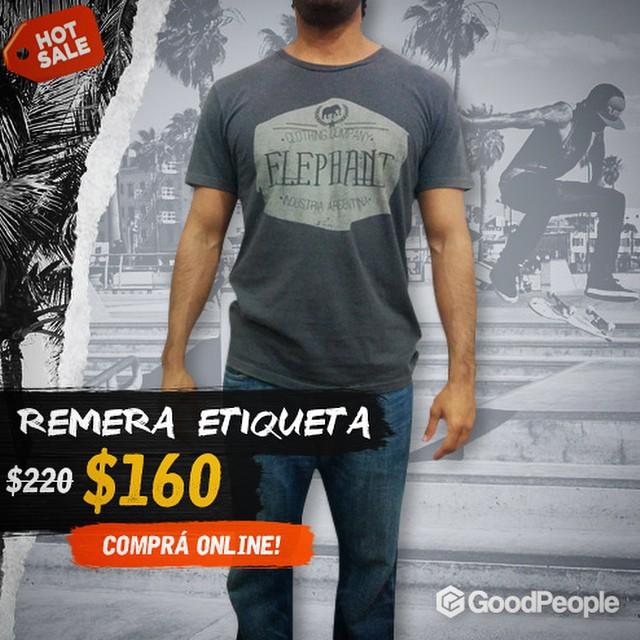 Dale que el envío es #gratis !!!! #hotsale #jointheherd #herd #descuento #shirt #elephant #elefante #remeras @elephantindumentaria  Shop online: http://bit.ly/1IwtBcw