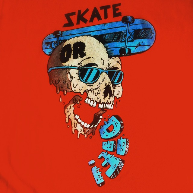 Gotcha by Julian Mono #ICONS series - #limited #tubulartee #skate or #die