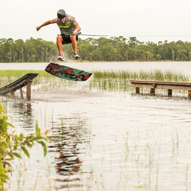 Top of the line and durable wakeskate, the Jobe Sign! #jobewakepark #wakeskate
