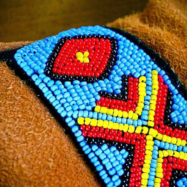 The Astis Elbrus glove. #beadwork #skiglove #sweet #snow #love #skiing