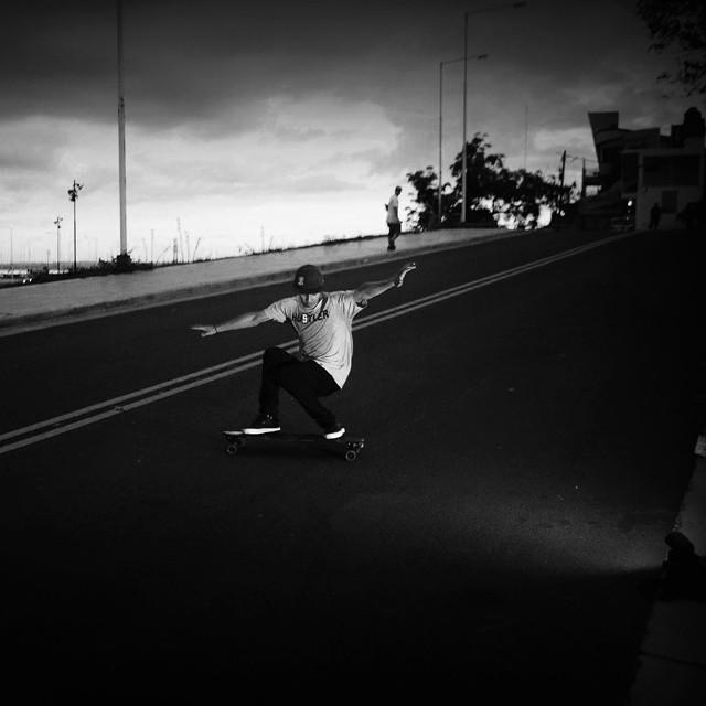 Kalima Freeride Rider: Ejem Black Misiones, Argentina #kalimaskate #freeride #kalimalongboard