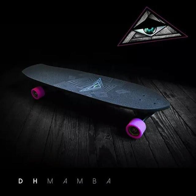 DH Mamba 2015 #lonboard #downhill  #skateboarding #kalimaboards