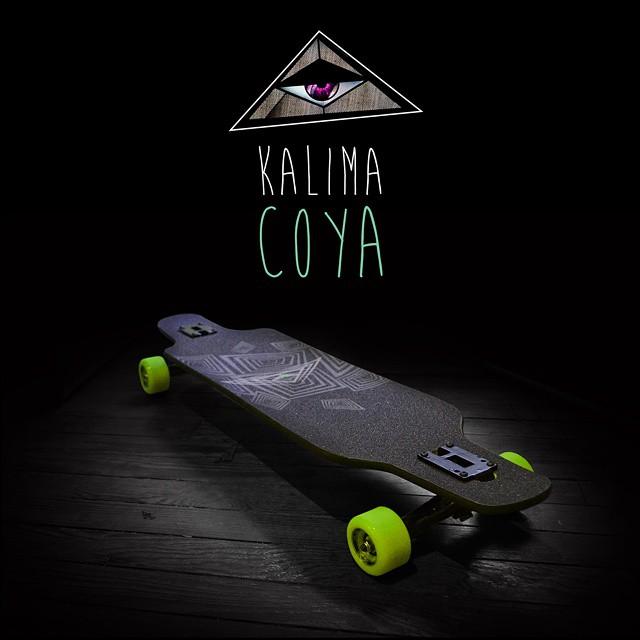 Kalima Coya #longboard #skatelife #skatefactory