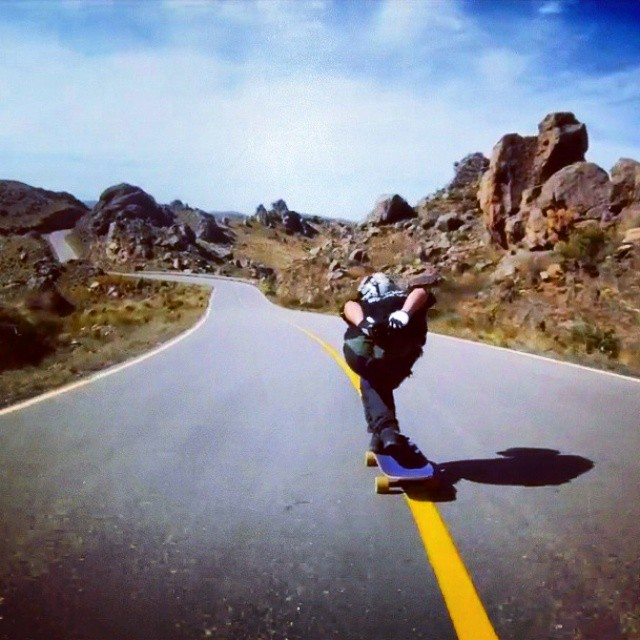 Kalima Down Hill  Rider Tomy Kloosterman #downhill #skatelife #lonboard