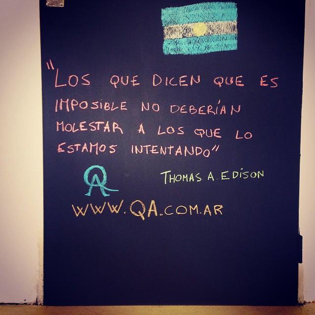 ¡QA no para!  @hugo_moyano #paronacional  www.QA.com.ar