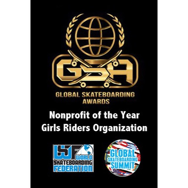 GRO is honored to receive the Global Skateboarding Award for nonprofit of the year at the Global Skateboarding Summit‼️‼️‼️ #ridetrue #thankyouskateboarding