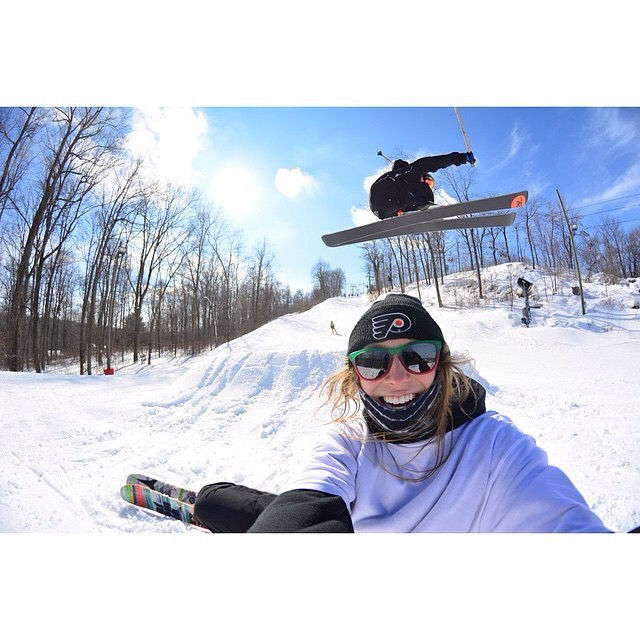 "Stoked to see Panda athlete Adam Guare land the NewSchoolers ""Photo of the Day"" yesterday with this Rachel Bock selfie! That timing! Cheese!  Photo: @b0ckmeister  Repost from @newschoolersdotcom  @adamcaptainwu  #PandaPoles #PandaTribe #NewSchoolersPOD..."