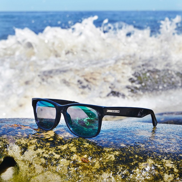Choose your sunglasses like you choose your next lunch spot - WISELY. #hovenvision #teamhoven #surf #sup #fish #beach #sandiego #keepinitreel #california #tuesday #waves #summer #bigrisky