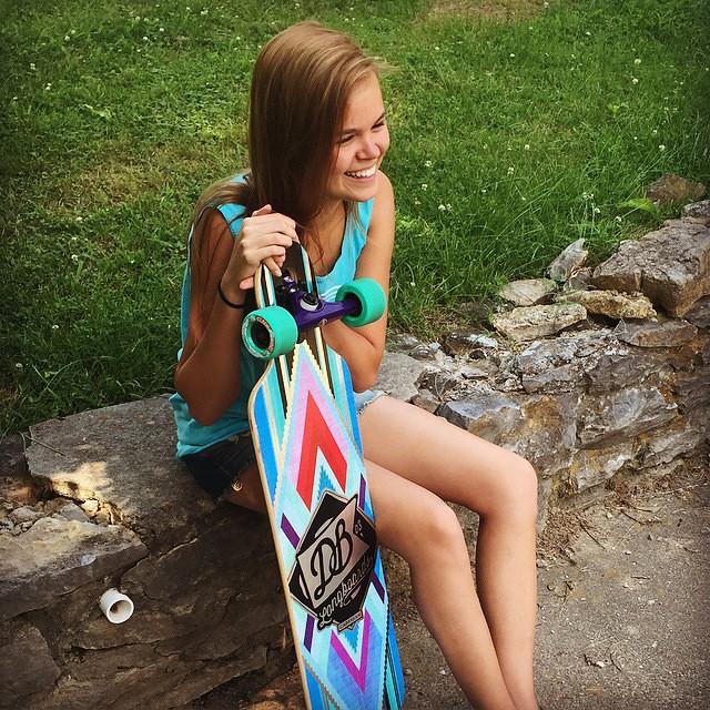 Regram from @greenway_surfers featuring @MARY_ALBRIGHTT 'S new Cabrakan cruiser. #longboard #longboarding #longboarder #dblongboards #goskate #shred #rad #stoked #skateboard #skateeveryday