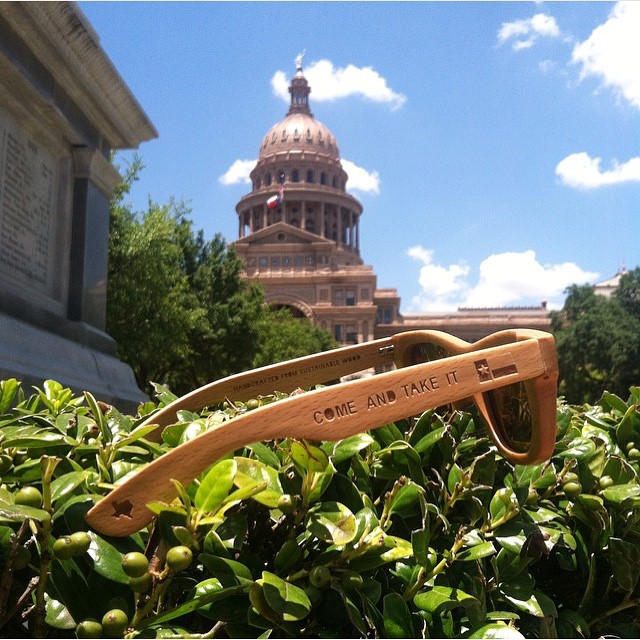 Happy to announce we are carrying @republicofsol wood frame sunglasses in the store! These guys are doing some great things!  Give them a follow to see where they pop up next. • • #ATX #austintx #texas #tx #spratx #ros #republicofsol