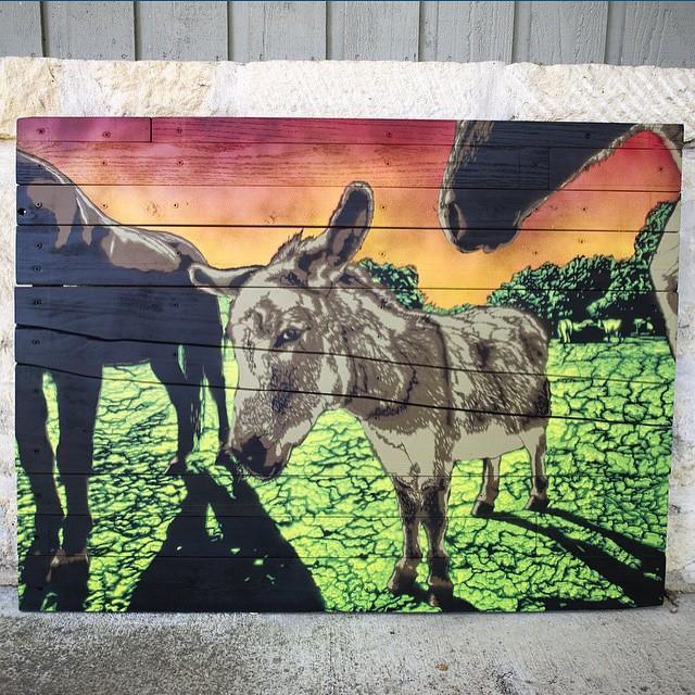 @g52cube • • #ATX #austintx #Texas #tx #spratx #g52 #stencil #art