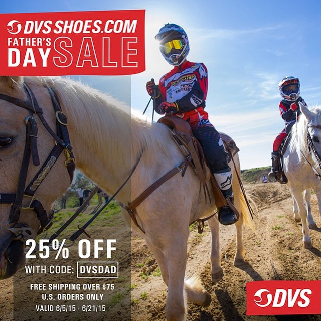 Father's Day sale at @dvsshoes