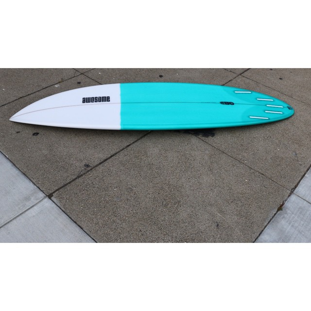 OB resin tint #awesome#awesomesurfboards