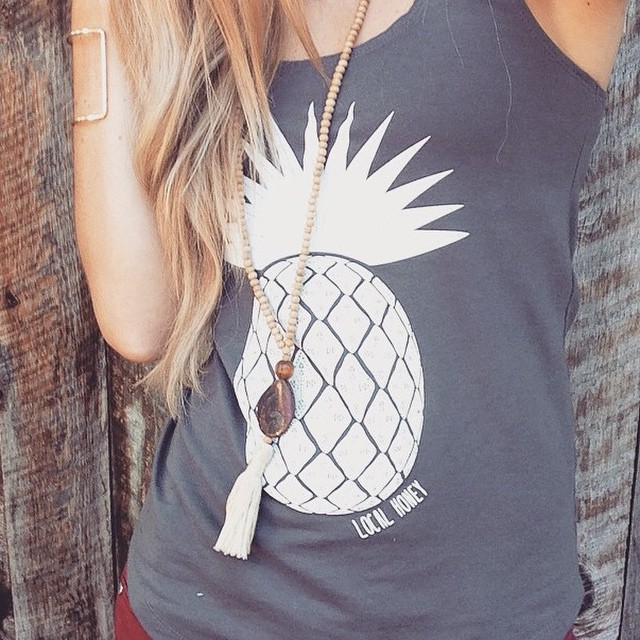 Love our new pineapple tank on @moabesthetics!