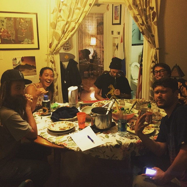 Team Bonzing dinner!  #bonzing