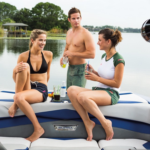 Boating is all about having fun! #boating #friends #fun #fusionoffun