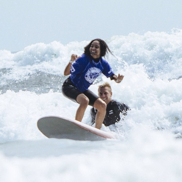 Ride the wave #success #determination #motivation #challenge #accomplishment #surf #surfing #surfer #surfergirl #surfboard #ocean #beach #waves #water #passion #confidence #youth #community #happiness #proud #smiles #surflife #surfstyle #surfsup #joy...