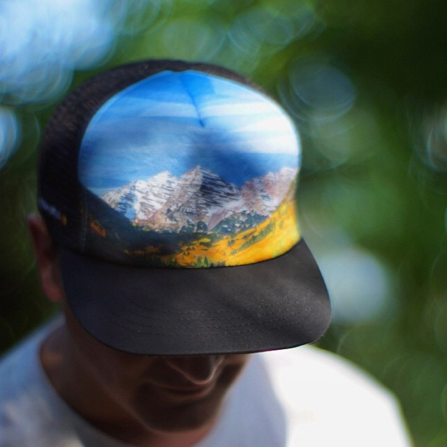 Maroon Bells Hat GIVEAWAY! Enter to win with a LIKE and COMMENT on this post. You can pre-order now for a discounted $20 ($30 retail). The design was created using over 12,000+ hand drawn triangles, taking 250+ hours to complete. This is without a...