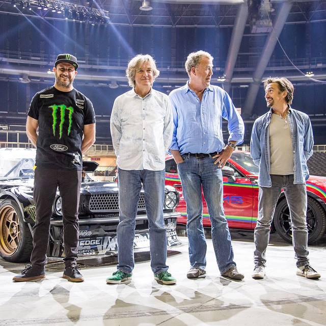 Stoked to be reunited with these three dudes today during media day for the Clarkson Hammond and May Live show. You may recognize them from a certain popular automotive TV program. Ha. Stoked to be a part of their live show this weekend here in South...