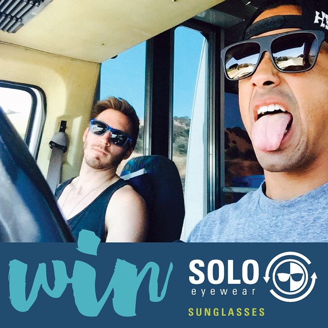 Stoked to have the awesome band @throughtheroots rocking SOLOs! To enter our giveaway:  1. Follow @throughtheroots  2. Comment below with your favorite pair of SOLOs. Visit www.soloeyewear.com to see styles.