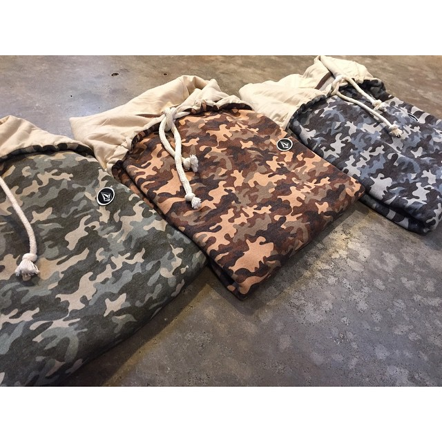 #newIn Camu Hoddie Premium Fleece #AW15 #TrueToThis #Camo