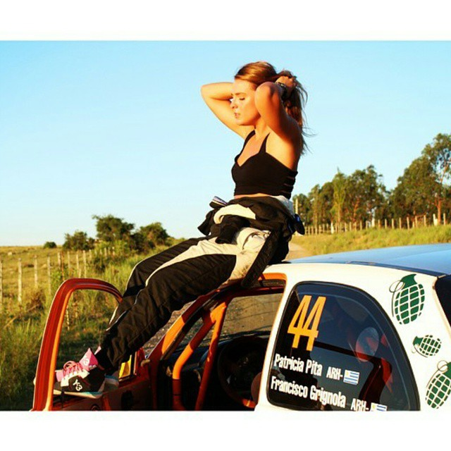 #wcw we'd let @patriciapitarally drive us anywhwre #vroomvroom