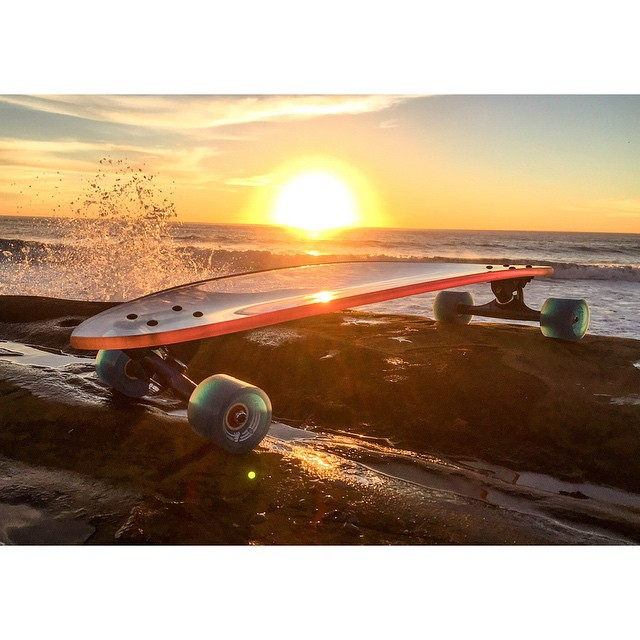 the innovation is clear... #jellyskateboards #jellymanowar #longboard #jellyrolls #blockrisers #sandiego #longboards