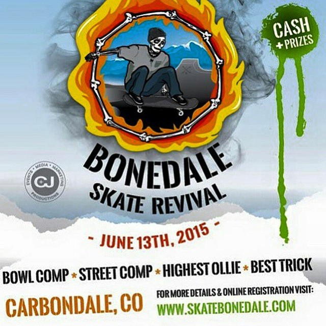 Some of the #colorado skateboards team will be in Carbondale this weekend, come join us!!